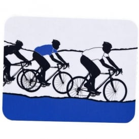 The Art Rooms Tour de France White Jersey Coaster - Single