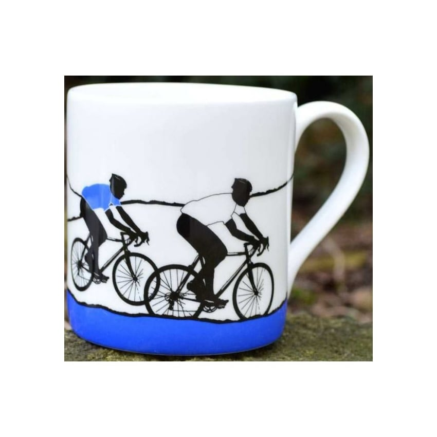 The Art Rooms Tour de France White Jersey Mug