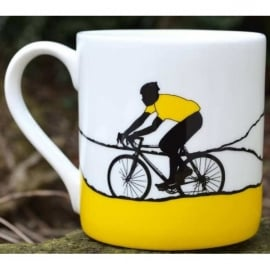 The Art Rooms Tour de France Yellow Jersey Mug