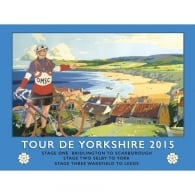 Original Metal Sign Company Tour de Yorkshire 2015 Metal Sign