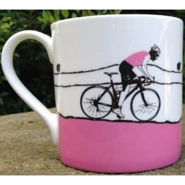 The Art Rooms Tour De Yorkshire Pink Jersey Mug