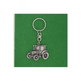 David Hindwood Tractor Pewter Keyring