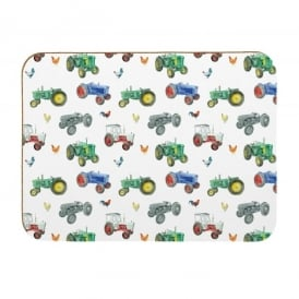 Coleshill Design Tractors Placemats - Set of 4 - Ceinwen Campbell