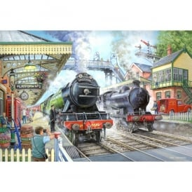 House Of Puzzles Train Now Standing Jigsaw - 1000 Pieces