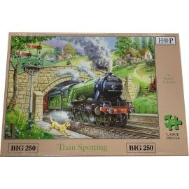 House Of Puzzles Train Spotting Jigsaw - 250 Big Pieces