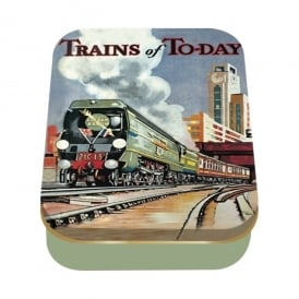 Half Moon Bay Trains Of Today Collector Tin