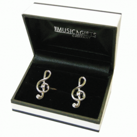 Music Gifts Company Treble Clef Cufflinks