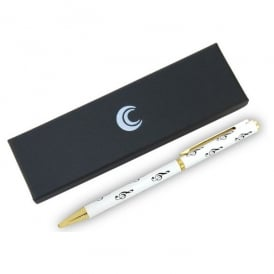 Clere Concepts Treble Clef White Pen - Boxed
