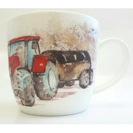 Leonardo Trumpers World 'Big Boys Toys' Tractor Mug
