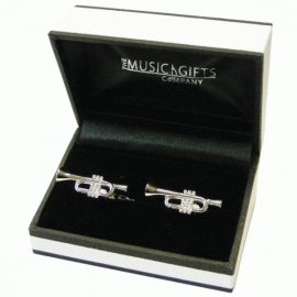 Music Gifts Company Trumpet Cufflinks