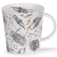 Dunoon Trumpet Encore Cairngorm Fine China Mug