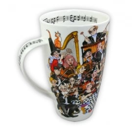 Dunoon Tuning Up Henley Fine China Mug