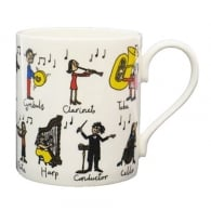 McLaggan Smith Tyrrell Katz - Classical Music Mug