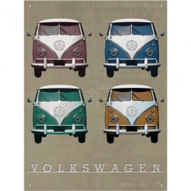 Brisa Vintage Quad VW Camper Sign