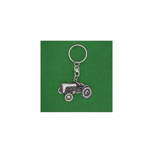 David Hindwood Vintage Tractor Pewter Keyring