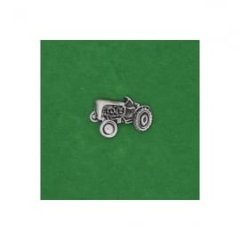 David Hindwood Vintage Tractor Pewter Lapel Pin