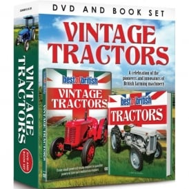 Demand Media Vintage Tractors DVD & Book Set