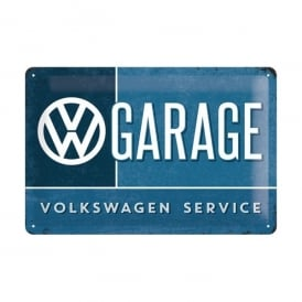 Casa Grande Volkswagen Garage Service Tin Sign