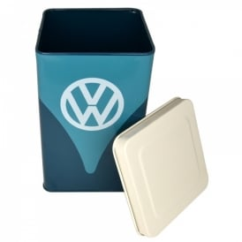 Half Moon Bay VW Blue Rectangular Canister