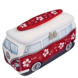 Brisa VW Bus Univeral Wash Bag - Red