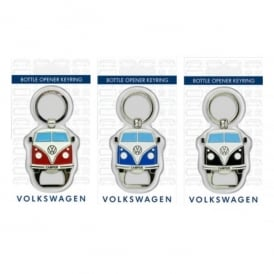 Elgate VW Campervan Black Bottle Opener Keyring