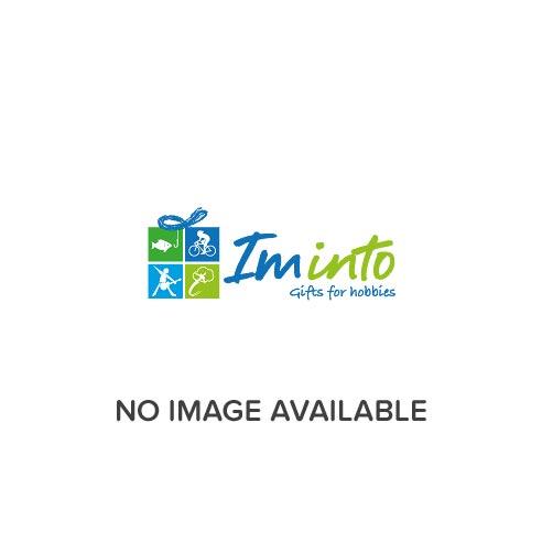 Elgate VW Campervan Gold Metal Charm Keyring
