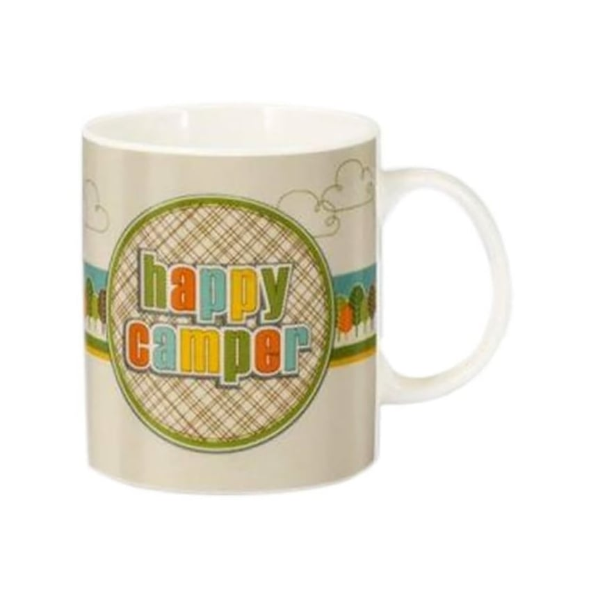 Elgate VW Campervan Happy Camper Mug