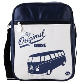 Brisa VW Campervan Shoulder Bag - Original Ride in Navy