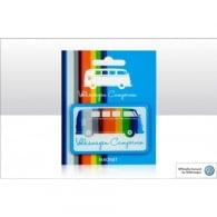 Elgate VW Coloured Stripes Fridge Magnet
