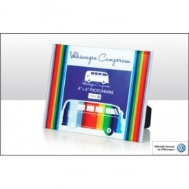 Elgate VW Coloured Stripes Glass Photo Frame