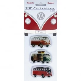 Brisa VW Fridge Magnets - Set of 3