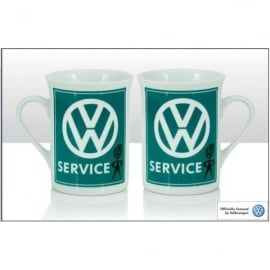 Elgate VW Mr Bubblehead Service Lippy Mug