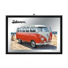 Casa Grande VW Red Campervan Mirror