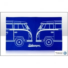 Elgate VW Split Camper Van Tea Towel