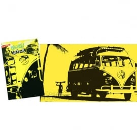 Elgate VW Surf Yellow Tea Towel