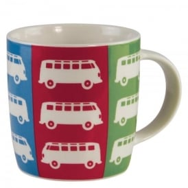 Brisa VW T1 Mug - Multi Colours