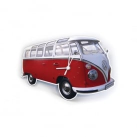 Brisa VW T1 Wall Clock - Red