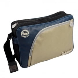Brisa VW Tire Tread Messenger Bag - Blue