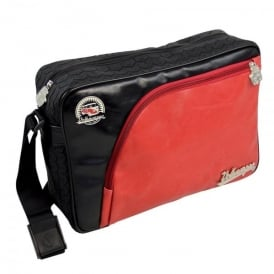 Brisa VW Tire Tread Messenger Bag - Red
