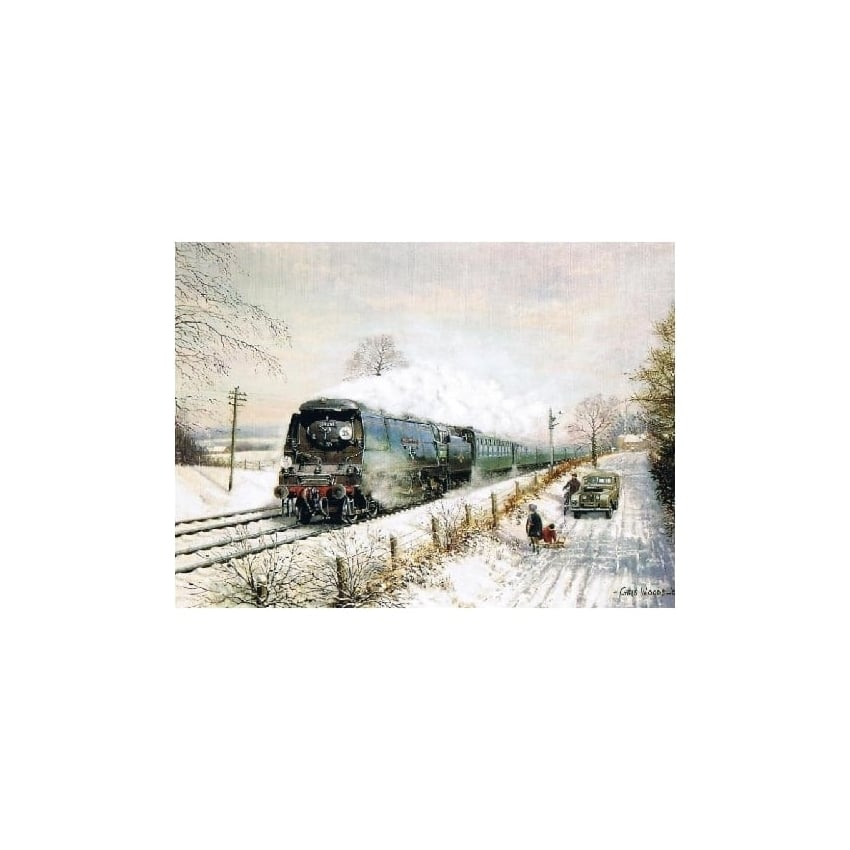 Rothbury Publishing Wadebridge in Winter Christmas Cards - Pack of 4