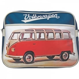 Half Moon Bay Westfalia T2 Red VW Campervan Bag