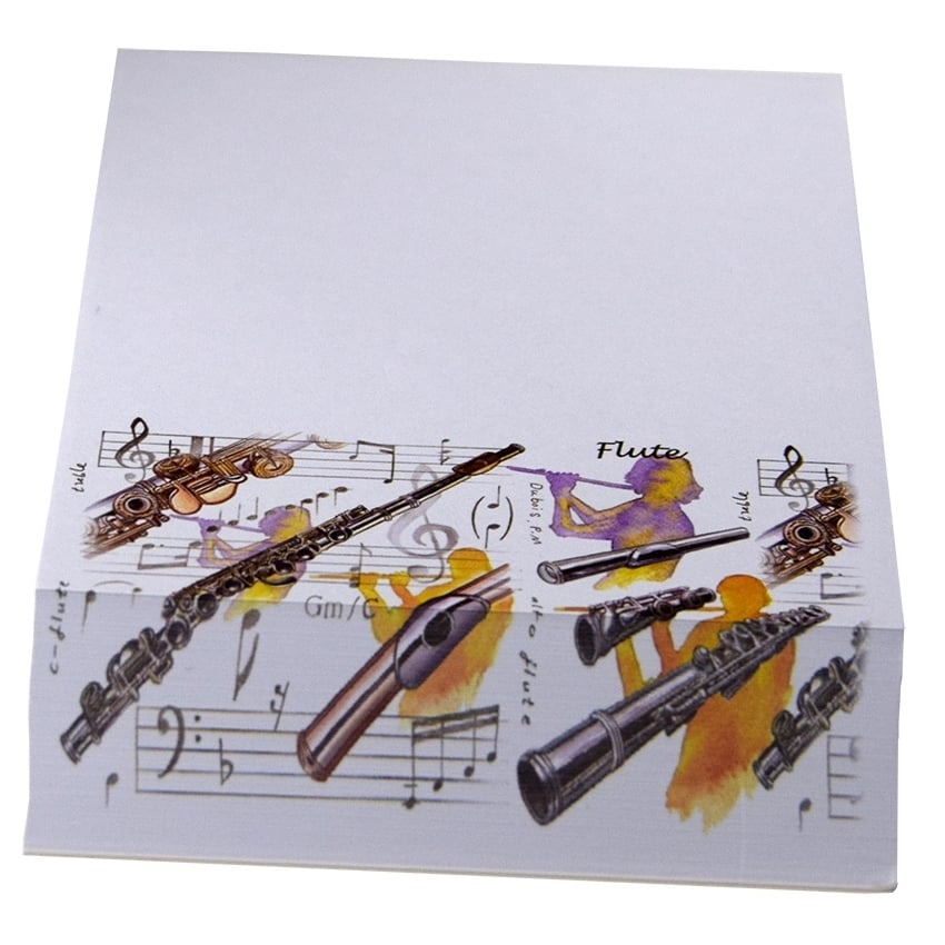 Little Snoring Wind Instruments Slant Pad