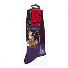 Tie studio Worlds Greatest Fisherman Socks